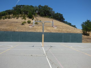 Basketball Courts at San Jose Middle School