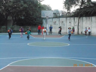 Basketball Court - Credit Siri Fort Sports Facebook