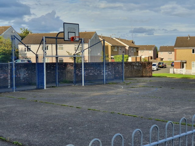Profile of the basketball court Harehill Rd Court, Chesterfield, United Kingdom