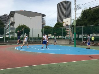 Profile of the basketball court ふじみのcourt, Fujimi, Japan
