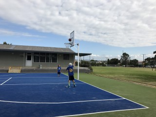 Basketball Court - Mount Maunganui College