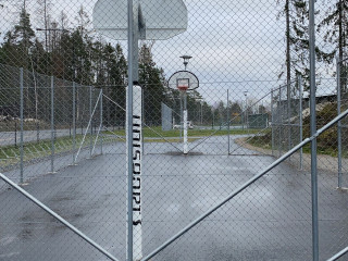Basketball Court - Cage