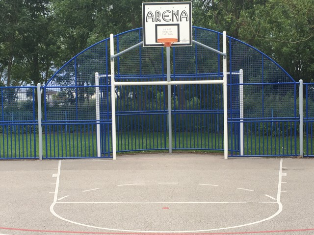 Profile of the basketball court Towyn Park Court, Towyn, United Kingdom