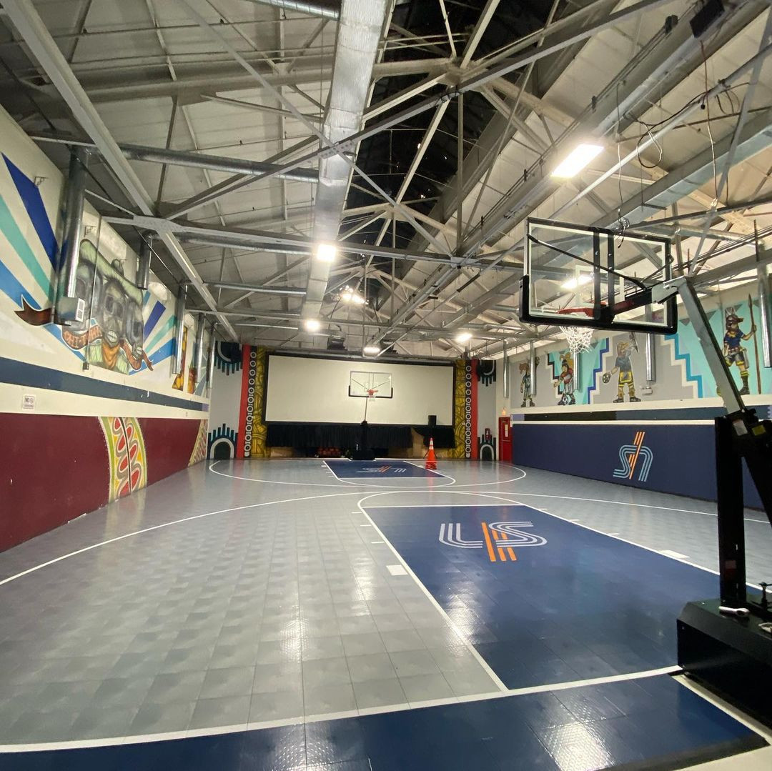 Basketball Courts In United States Courts Of The World