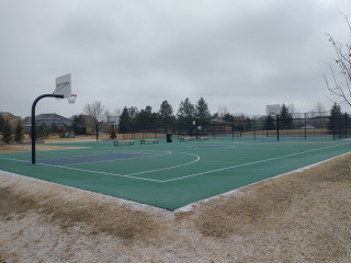 Profile of the basketball court Central Park at The Farm Courts, Aurora, CO, United States