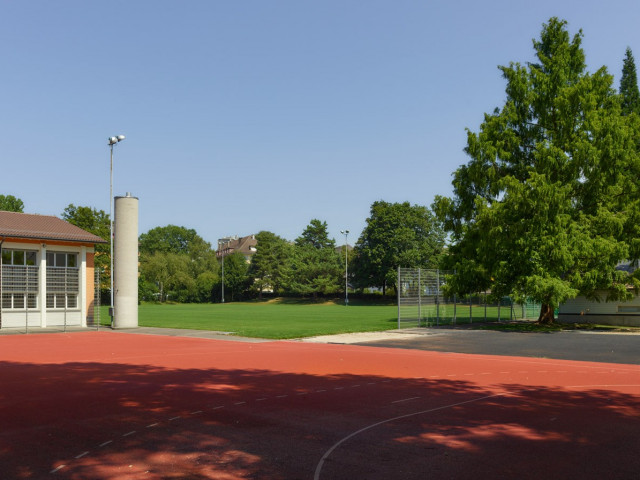 Basketball Court, before it turned into a basketball court