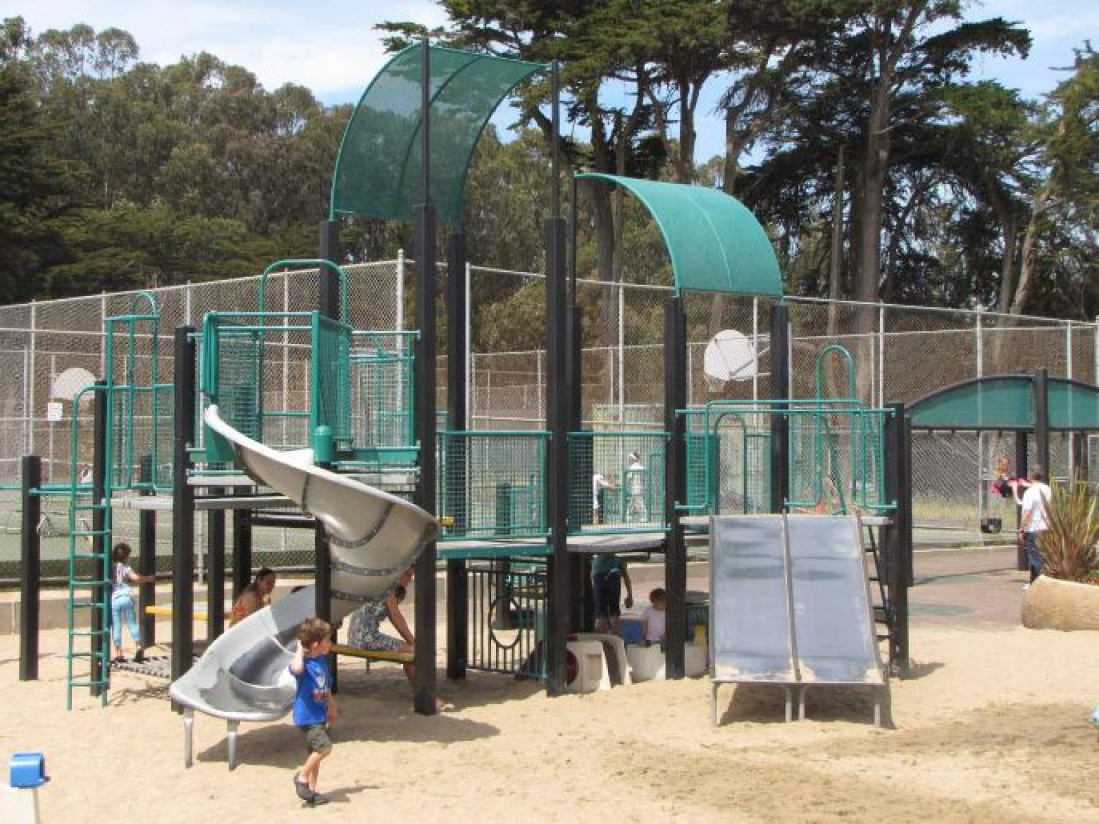 Julius Kahn Playground, San Francisco, CA, United States
