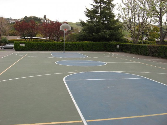 Streetball Court in Belvedere, Cali