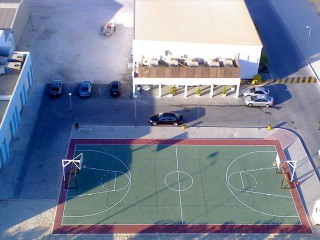 The Basketball Court at the Ritz Carlton in Manama, Bahrain.