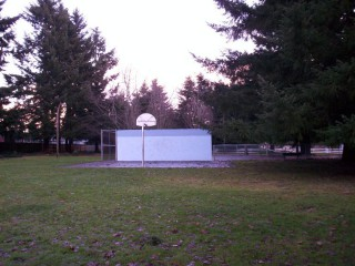 Profile of the basketball court Sumpter Park, Salem, OR, United States