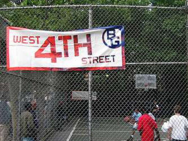 West 4th Streets Cage