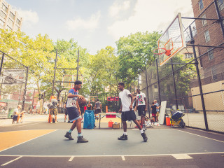 West 4th - The Cage Basketball Court