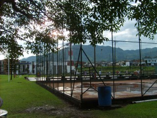 Basketball in Pereira, Colombia.
