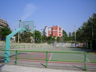 Profile of the basketball court Athlitiko Kentro Stavroupolis, Thessaloniki, Greece