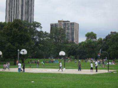 Chicago Il Basketball Court Lincoln Park Courts Of The