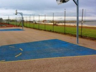 Profile of the basketball court Marine Parade, Great Yarmouth, United Kingdom