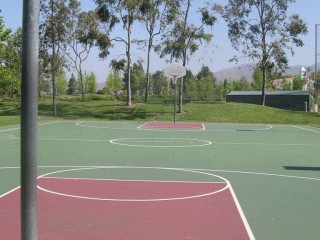 Profile of the basketball court Altisima Park, Rancho Santa Margarita, CA, United States