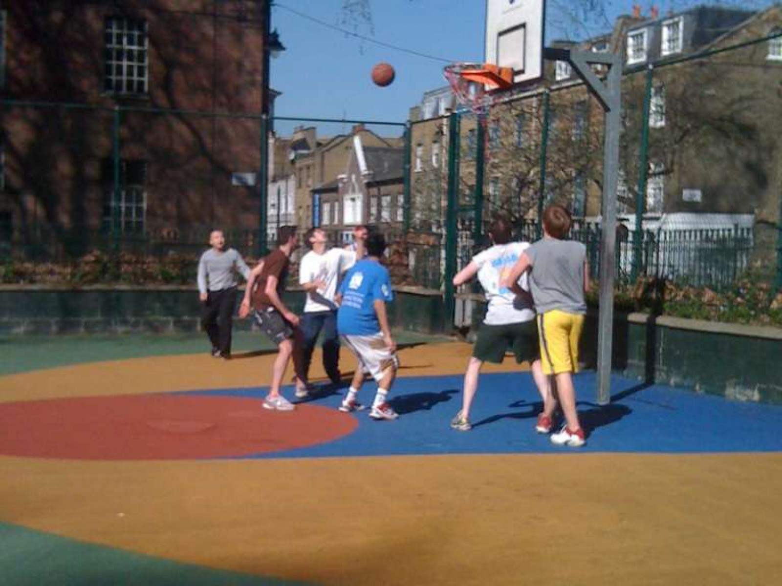 Argyle Square Public Basketball Court‎, London, United Kingdom