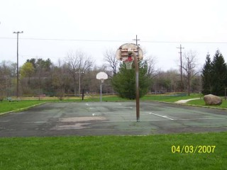 The Streetballcourt at Blue Limestone Park