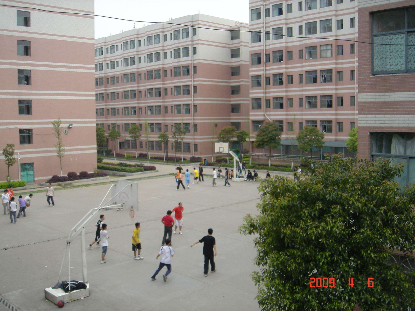 Tai Lake Basketball Courts, Changsha, China