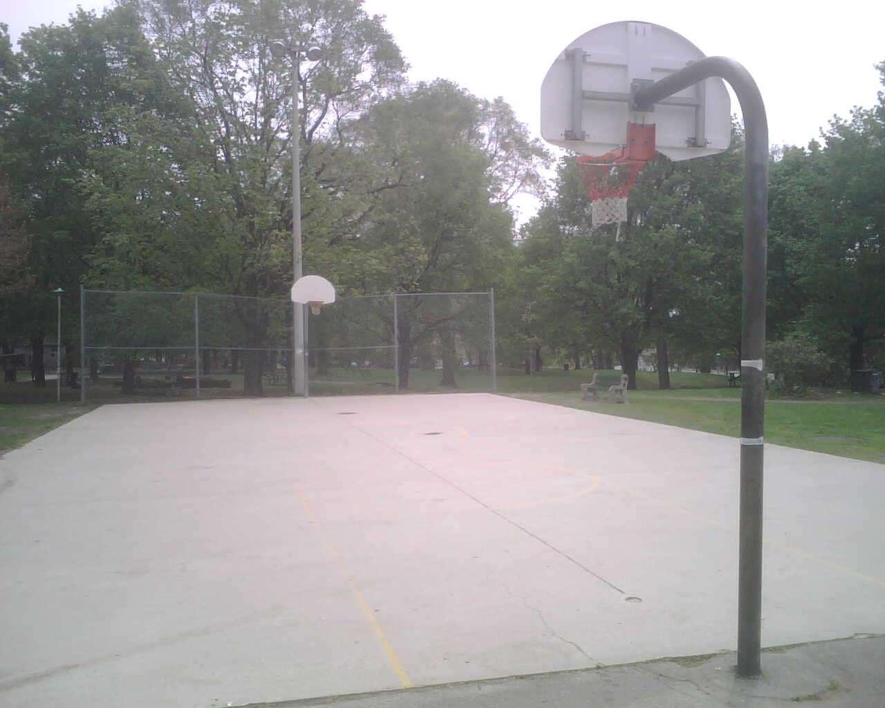 Toronto Basketball Court Dufferin Grove Courts Of The World
