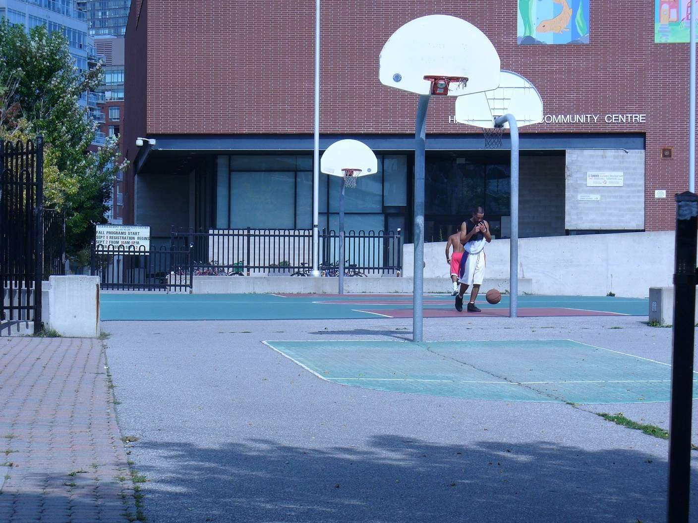 Toronto Basketball Court Harbourfront Courts Of The World