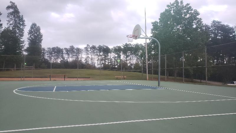 Greenville Sc Basketball Court Watts Park Courts Of The World