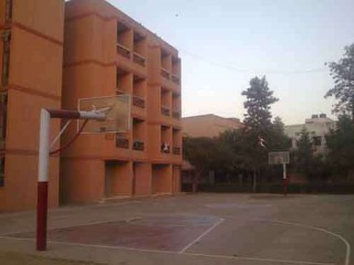 Profile of the basketball court Hamdard Public School Talimabad, New Delhi, India