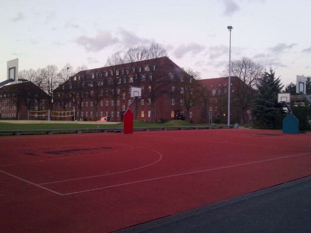 Streetball Court located at University Campus Lueneburg