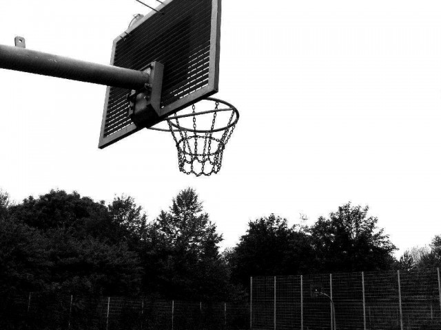 Profile of the basketball court WBG, Castrop-Rauxel, Germany